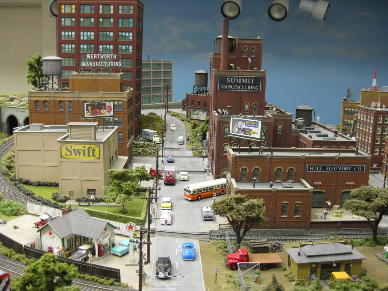 LMRC Lansing Model Railroad Club Gt LMRC Layout Pictures